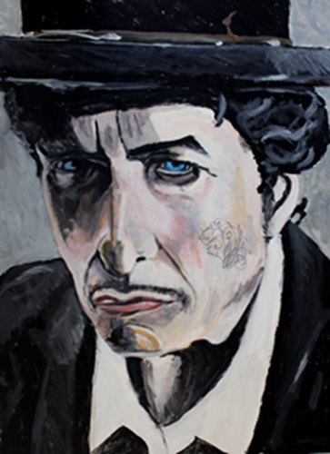 Picture of Bob Dylan, Pop Star