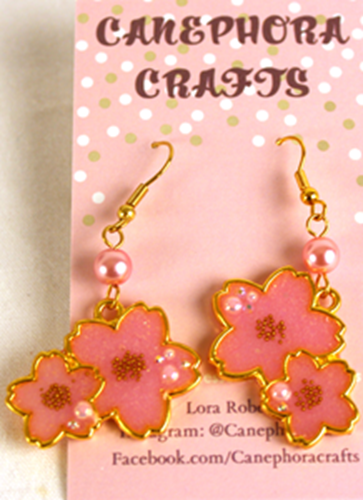 Picture of Cherry Blossom Earrings