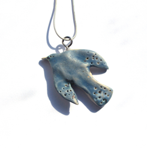 Picture of Blue Bird Necklace
